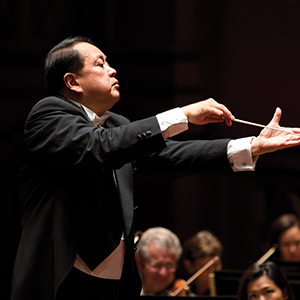 LING CONDUCTS BRAHMS