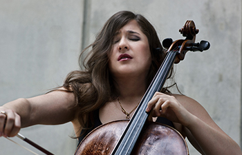 Alisa Weilerstein playing Cello