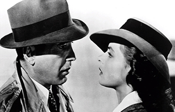 Screenshot of the movie Casablanca