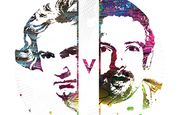 Coldplay v. Beethoven logo