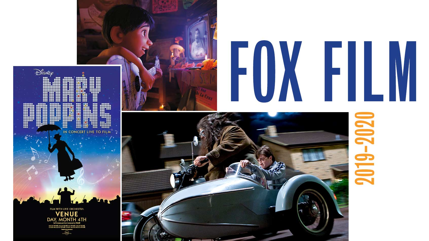 Fox Theatre Film Series 2019-20