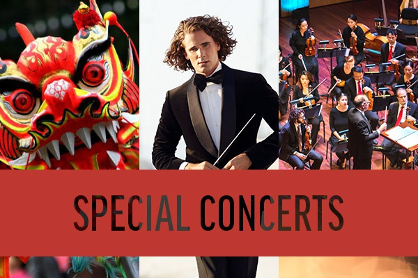 Special Concerts: featuring the Lunar New Year Celebration, Steve Hackman, and Noel Noel