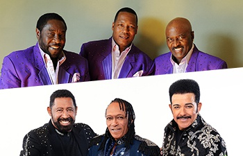 The O'Jays plus the Commodores