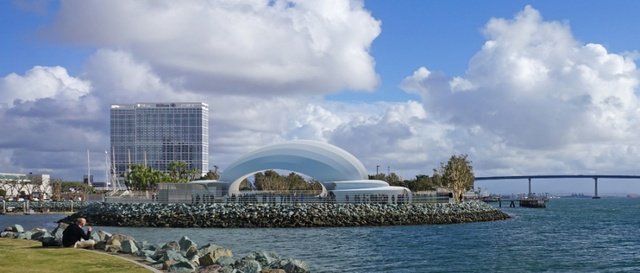 San Diego Summer Pops 2020.Proposed San Diego Symphony Bayside Performance Center